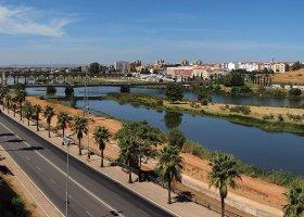 Река Guadiana с Алькасабы