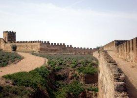 Vista desde el adarve dela Alcazaba