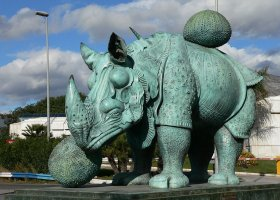 Rinoceronte (Dalí)