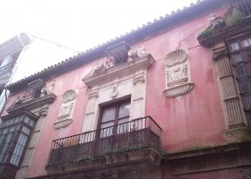 Balconada del Palacio de la Mayordomía